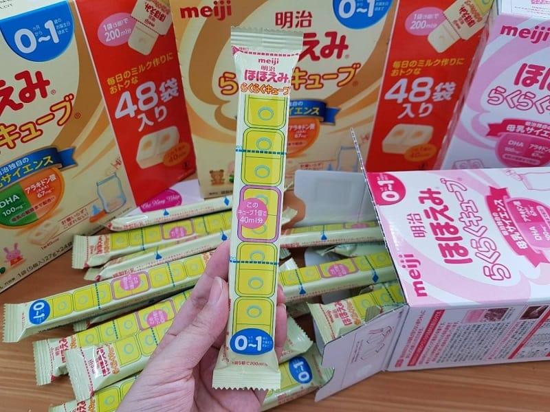 Các sản phẩm sữa nội địa mang công thức riêng, phù hợp với thị trường Nhật