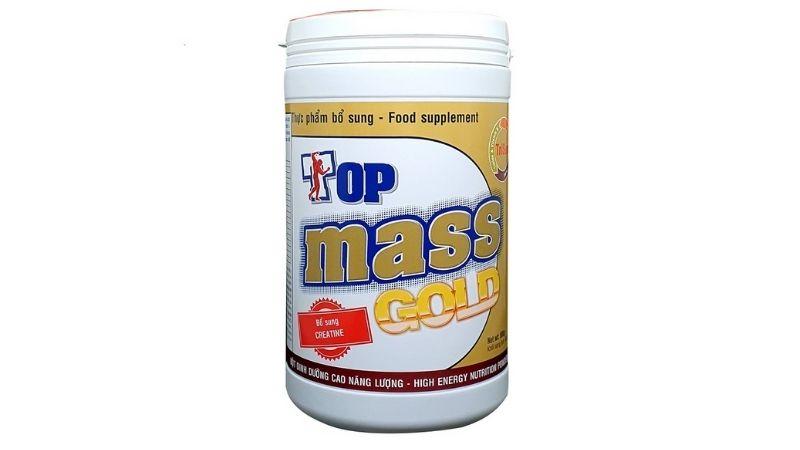 Sữa tăng cân cho người gầy Top Mass Gold