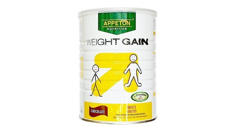 Sữa bột giúp tăng cân Appeton Weight Gain Adults