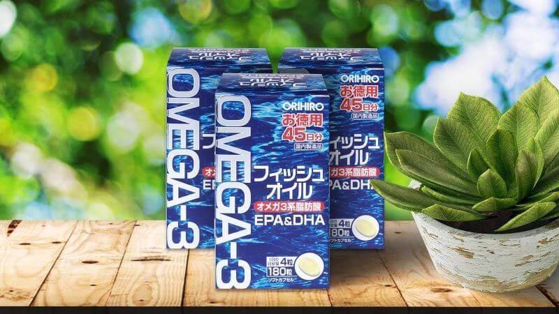 Viên uống Omega 3 Orihiro cung cấp Omega 3