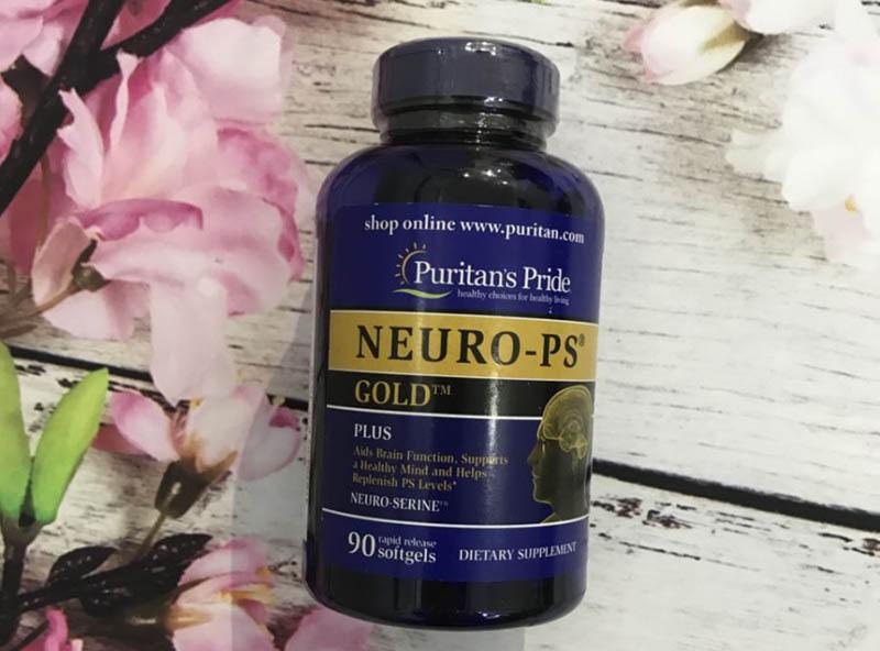 Viên uống bổ não Neuro-PS được sản xuất bởi nhãn hàng Puritan's Pride của Mỹ