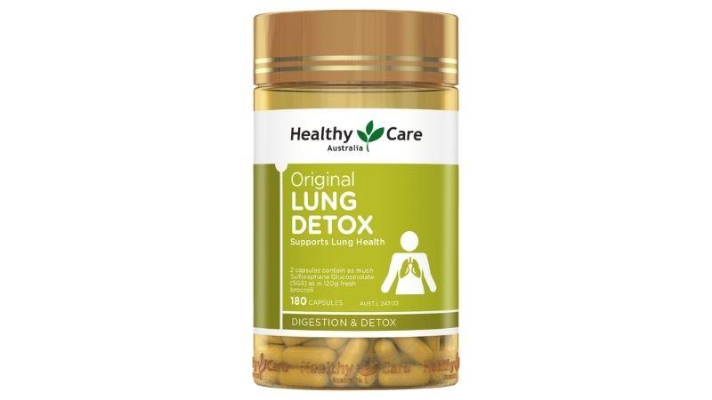 Thực phẩm chức năng bổ phổi Healthy Care Original Lung Detox