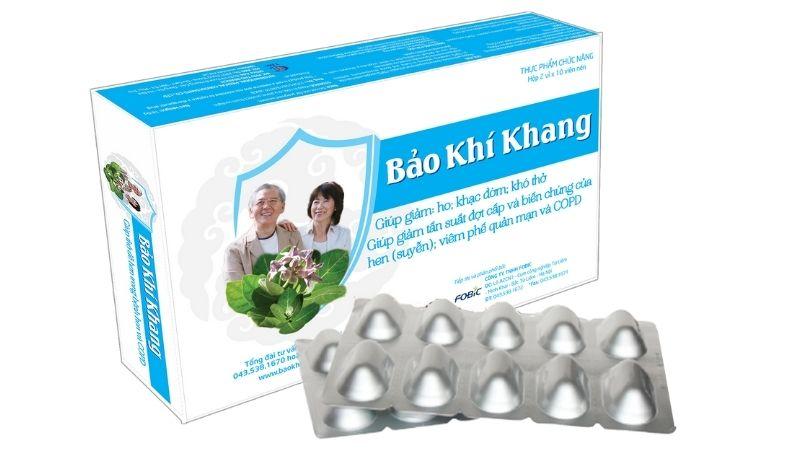 Thực phẩm chức năng bổ phổi Bảo Khí Khang
