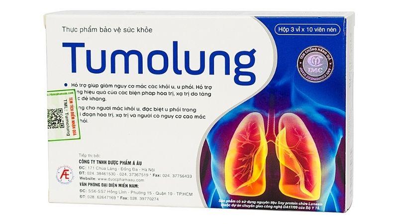 Tumolung là sản phẩm của Công ty TNHH Tư Vấn Y Dược Quốc Tế