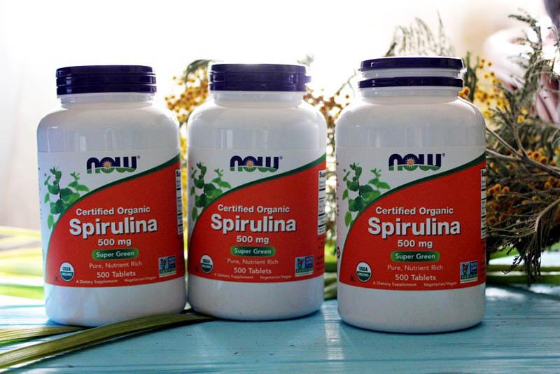 Thực phẩm chức năng tăng cân Now Spirulin