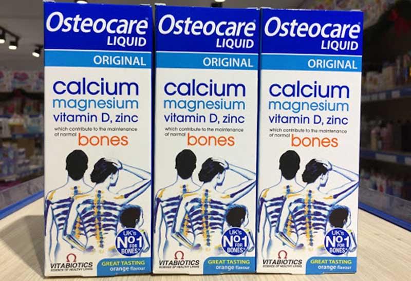 Canxi nước Vitabiotics Osteocare Liquid Canxi Uk