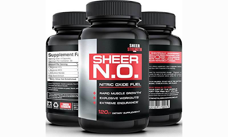 Thực phẩm chức năng tăng cơ bắp SHEER N.O. Nitric Oxide Fuel