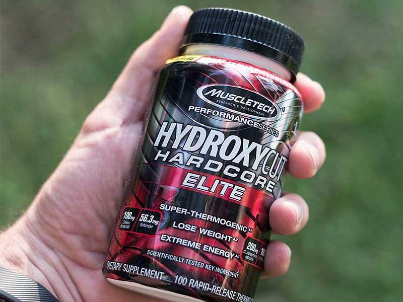 Sản phẩm viên uống Hydroxycut Elite đốt mỡ tăng cơ
