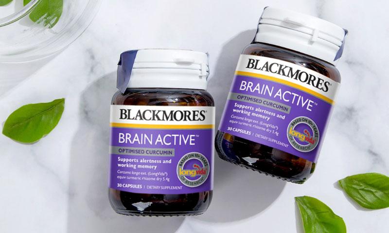 Blackmores Brain Active là viên uống tăng cường sức khỏe não bộ