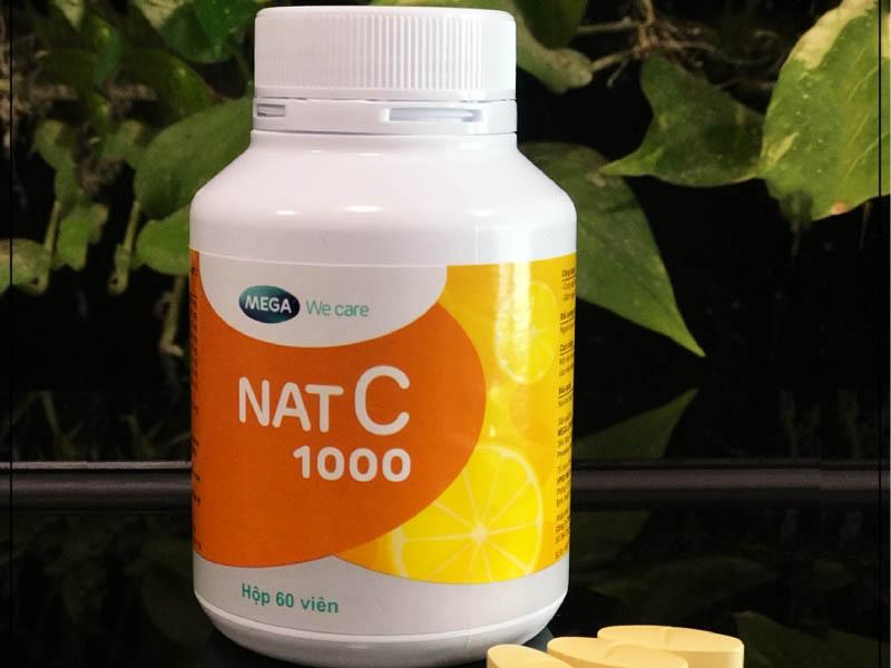 Thực phẩm chức năng tăng đề kháng Nat C