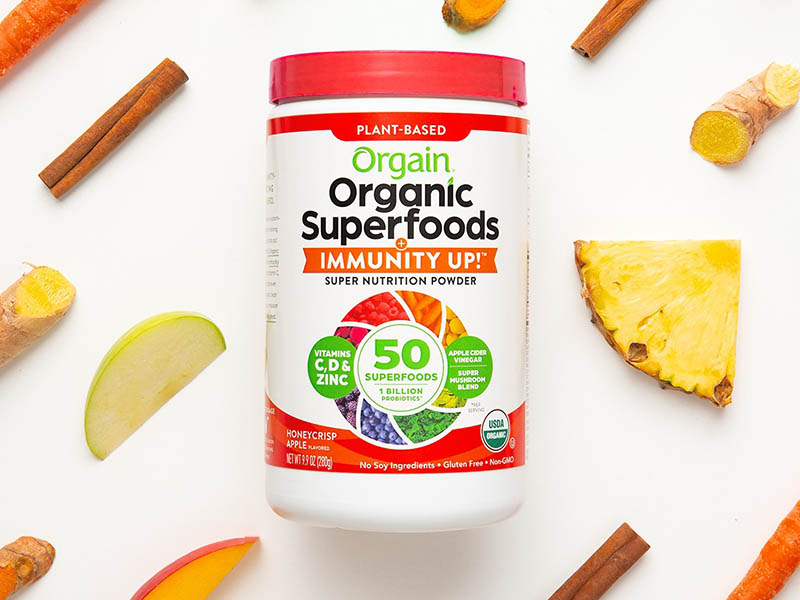 Bột Orgain Organic Superfoods Immunity Up
