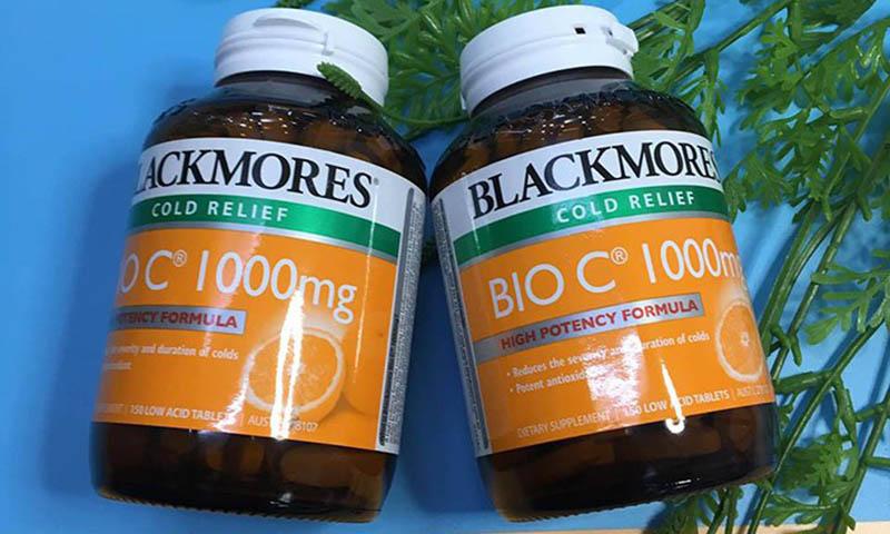 lackmores Bio C 1000 bổ sung vitamin C cho cơ thể
