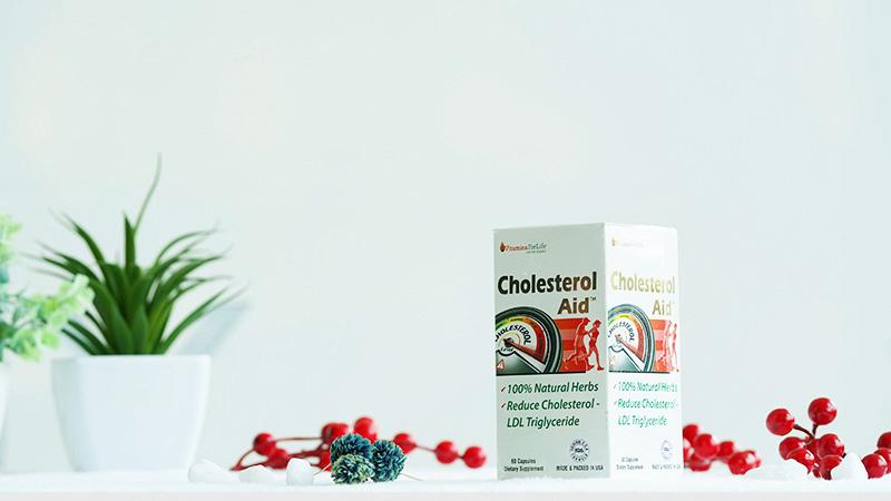 Thực phẩm chức năng tốt cho tim mạch Cholesterol Aid