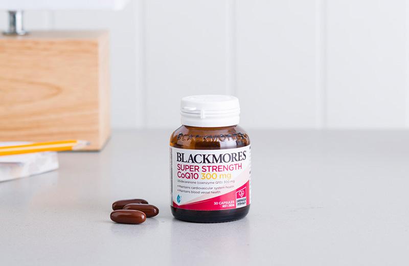 Blackmores Super Strength Coq10 cho tim mạch
