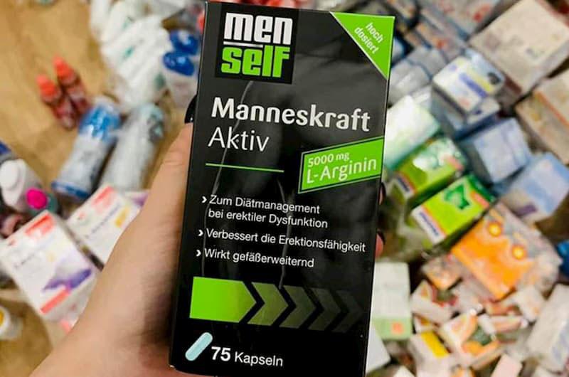 Sản phẩm Menself Manneskraft Aktiv nổi tiếng giúp tăng cường sinh lý nam giới