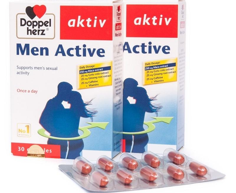 Men Active là sản phẩm của Queisser pharma một công ty dược phẩm hàng đầu của Đức