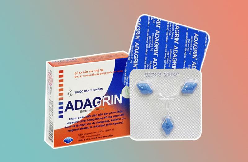 Adagrin có khả năng kích thích ham muốn của phái nam
