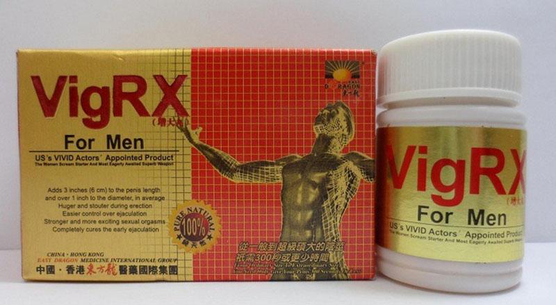 Một trong những loại thuốc cường dương tốt nhất hiện nay là Vigrx