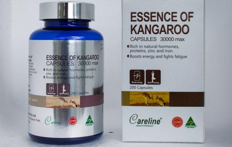 Viên uống Essence of Kangaroo Blue chuyên dùng để cải thiện các vấn đề sinh lý nam