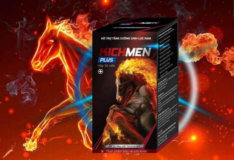 Viên uống tăng cường sinh lực cho đàn ông Kichmen Plus