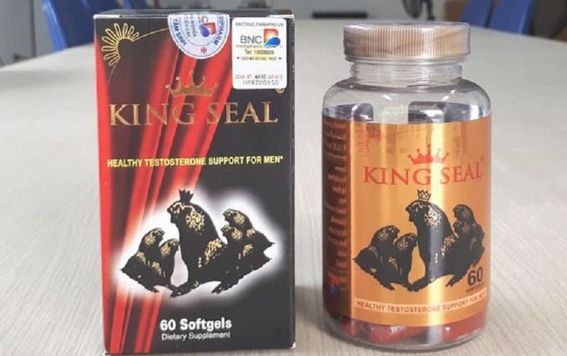 Thuốc tăng cường sinh lý nam của Mỹ King Seal là sản phẩm nổi tiếng toàn cầu