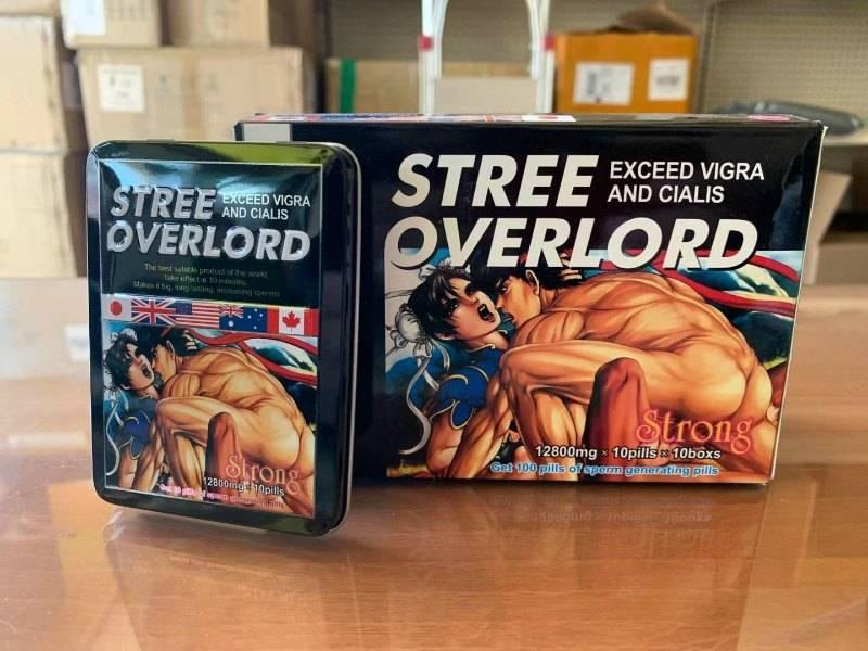 Viên uống bổ trợ sinh lý nam Stree Overlord của Nhật