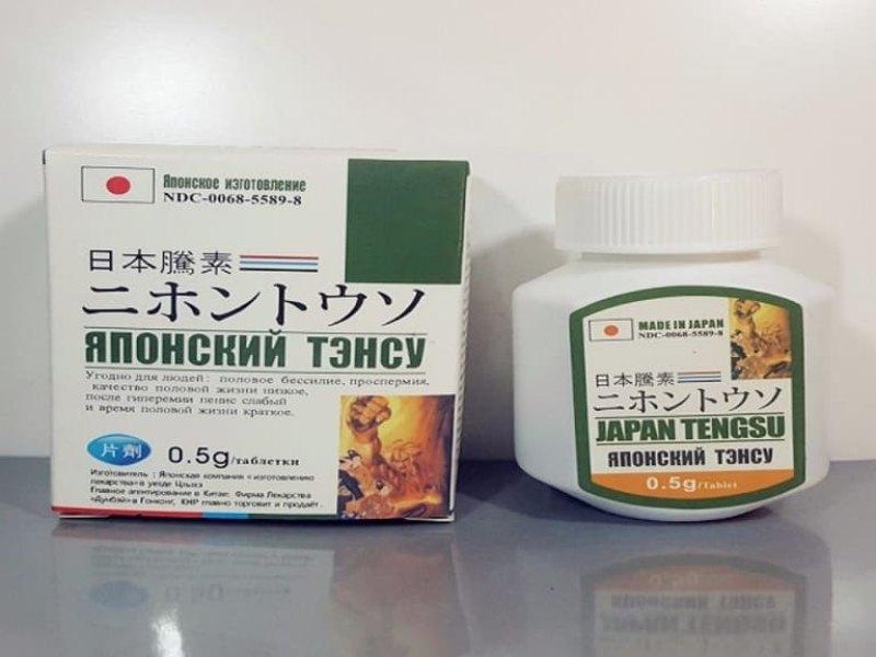 Bao bì viên uống tăng cường sinh lý nam của Nhật Tengsu