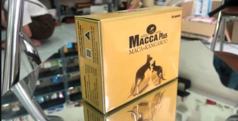 Macca Plus được bào chế từ nhân sâm Peru và bột bắp chuột túi rất tốt cho sinh lý nam giới