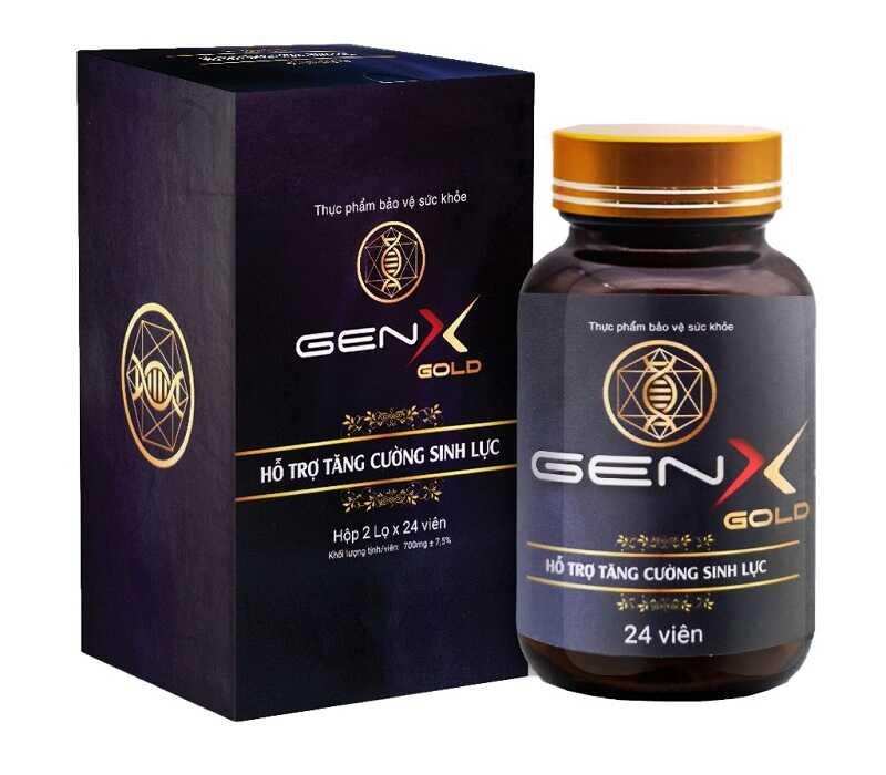 Thuốc trị rối loạn cương dương nào hiệu quả nhất? - đó là Viên uống Gen X Gold
