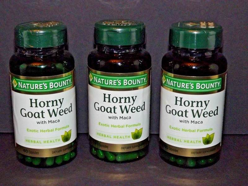 Nature's Bounty Horny Goat Weed