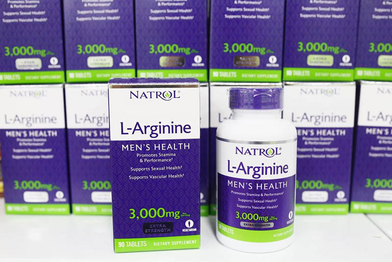 Sản phẩm trị xuất tinh sớm Natrol L-Arginine