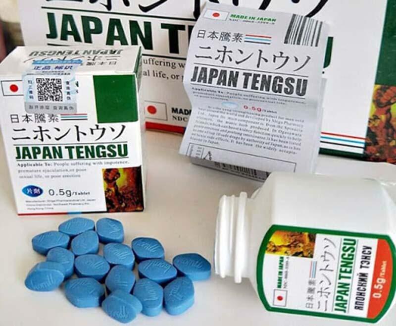 Một trong những loại thuốc có thể tăng cường sinh lý phái mạnh là Japan Tengsu