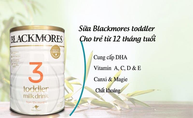 Sữa Blackmores số 3 cho các bé trên 1 tuổi