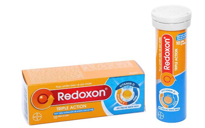 Redoxon cũng là một trong những nhãn hiệu của Bayer được thị trường yêu thích