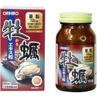 Tinh chất hàu tươi Orihiro hộp 120 viên