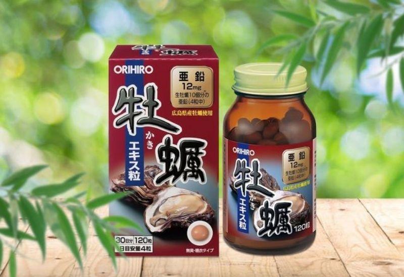 Sản phẩm tinh chất hàu tươi Orihiro được tin dùng hiện nay