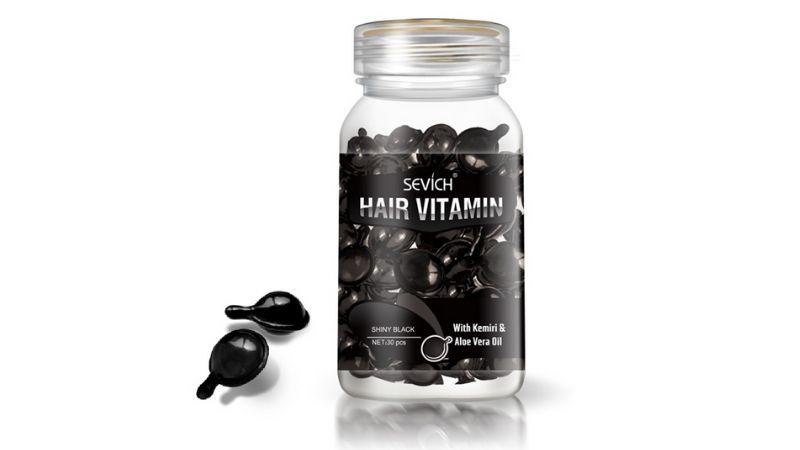 Sevich Hair Vitamin Capsule màu đen