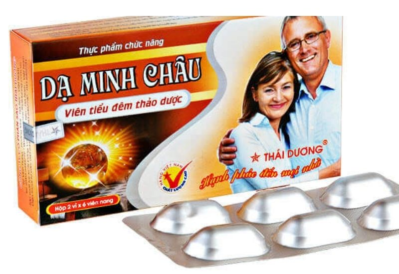 Viên uống tiểu đêm Dạ Minh Châu dùng cho người thận yếu