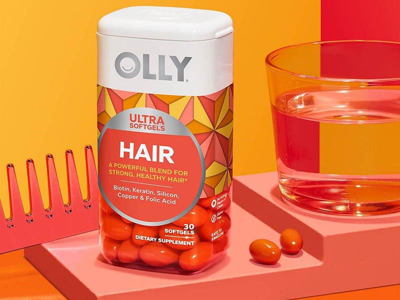 Viên uống Olly Hair Ultra được nhập khẩu trực tiếp từ Mỹ