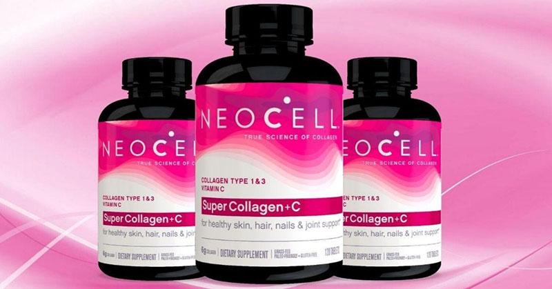 Viên uống NeoCell Super Collagen + C with Biotin xuất xứ từ Mỹ
