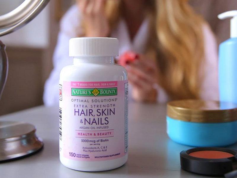 Hair Skin Nail Nature's Bounty cho da, tóc và móng