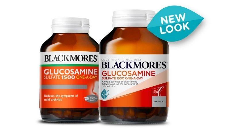 Bổ sung Glucosamine với sản phẩm của Blackmores
