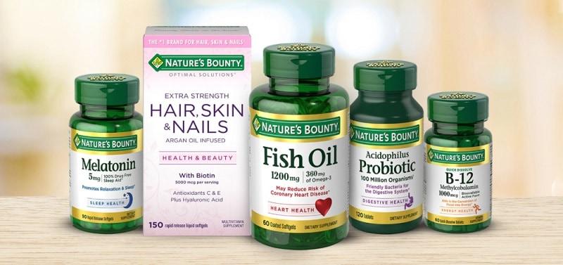 Sản phẩm mang thương hiệu Nature's Bounty luôn được ưa chuộng