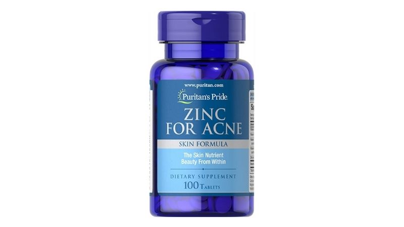 Puritan'S Pride Premium Zinc For Acne