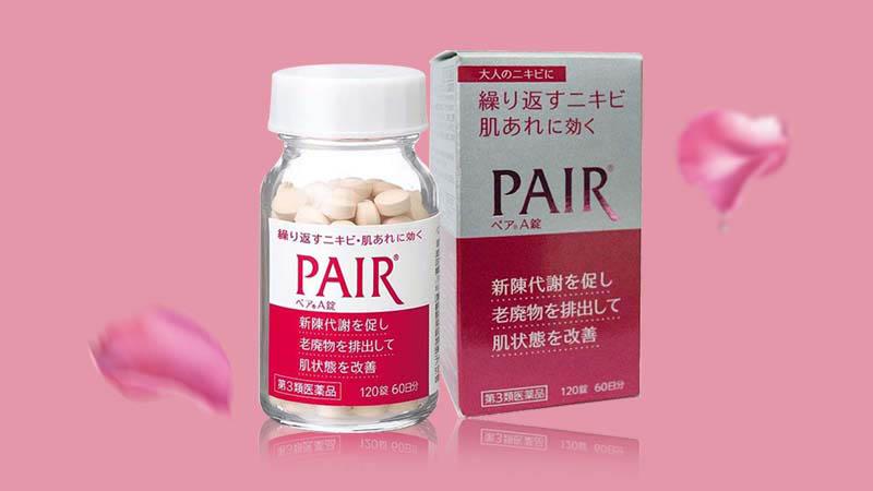 Viên uống trị mụn Pair từ Nhật