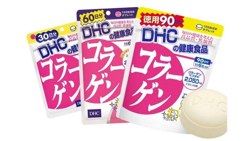 Bổ sung collagen DHC