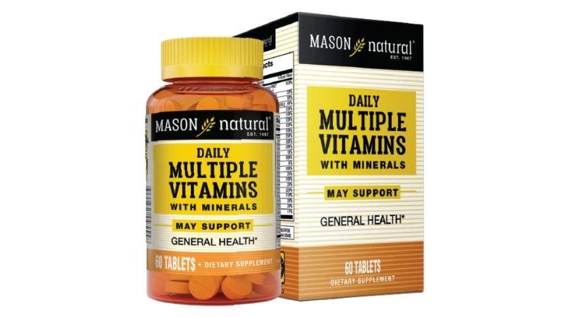Vitamin bổ sung Mason Natural Daily Multiple Vitamins With Minerals