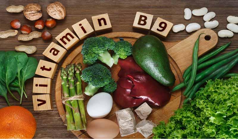 Vitamin B9 thường được biết đến với tên gọi là Acid folic