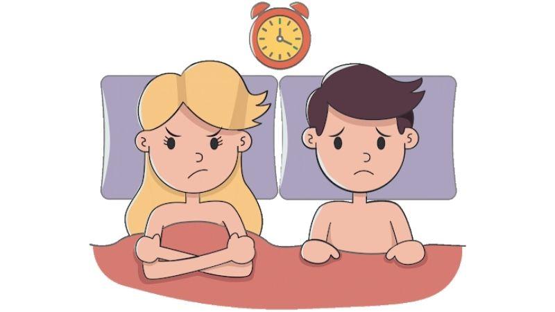 Những nguyên nhân thường gặp nhất làm nam giới xuất tinh nhanh