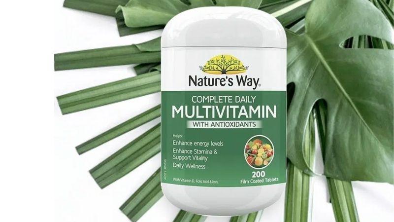 Nature's Way Multivitamin được đông đảo người dùng sử dụng hiện nay